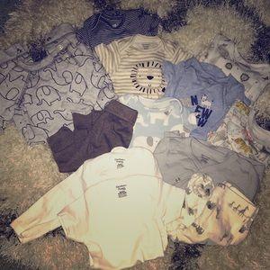 Boy Newborn Bundle: 12 Pieces